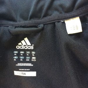 adidas Jackets & Coats - Adidas Men's Climalite Black & White Track Jacket